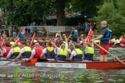 Kingston upon Thames dragon boat race-40