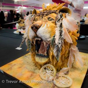 Hard to believe it's a cake! Cake International ExCel London