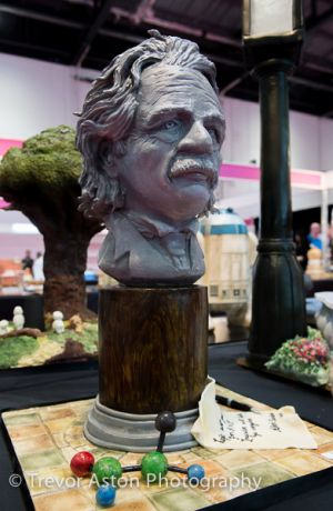 Einstein at Cake International ExCel London
