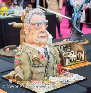 Not sure who he's meant to be, but he looks terrific. Cake International ExCel London